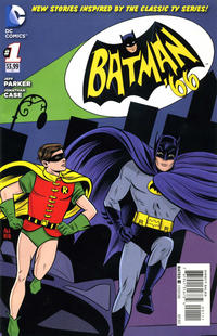 Cover Thumbnail for Batman '66 (DC, 2013 series) #1