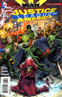 Cover Thumbnail for Justice League of America (DC, 2013 series) #6 [Direct Sales]
