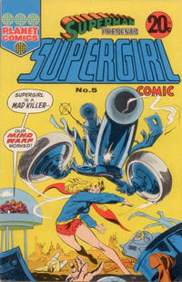 Cover Thumbnail for Superman Presents Supergirl Comic (K. G. Murray, 1973 series) #5