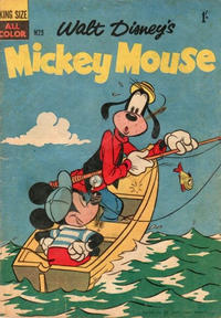 Cover Thumbnail for Walt Disney's Mickey Mouse (W. G. Publications; Wogan Publications, 1956 series) #29