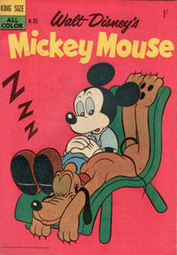 Cover Thumbnail for Walt Disney's Mickey Mouse (W. G. Publications; Wogan Publications, 1956 series) #25