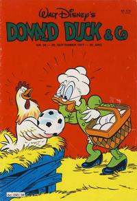 Cover Thumbnail for Donald Duck & Co (Hjemmet / Egmont, 1948 series) #38/1977