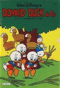 Cover Thumbnail for Donald Duck & Co (Hjemmet / Egmont, 1948 series) #41/1977