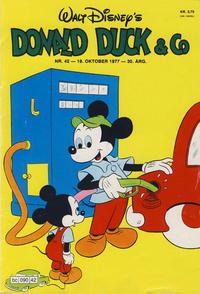 Cover Thumbnail for Donald Duck & Co (Hjemmet / Egmont, 1948 series) #42/1977