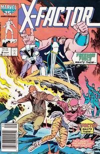Cover for X-Factor (Marvel, 1986 series) #8 [Direct Edition]
