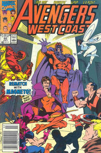 Cover Thumbnail for Avengers West Coast (Marvel, 1989 series) #60 [Newsstand Edition]