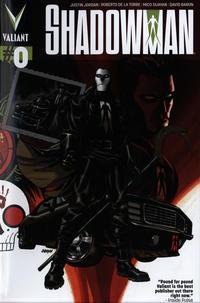 Cover Thumbnail for Shadowman (Valiant Entertainment, 2012 series) #0 [Cover A - Dave Johnson]
