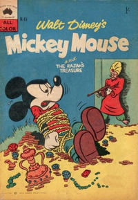Cover Thumbnail for Walt Disney's Mickey Mouse (W. G. Publications; Wogan Publications, 1956 series) #45