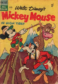 Cover Thumbnail for Walt Disney's Mickey Mouse (W. G. Publications; Wogan Publications, 1956 series) #35