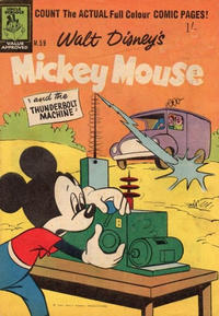 Cover Thumbnail for Walt Disney's Mickey Mouse (W. G. Publications; Wogan Publications, 1956 series) #59