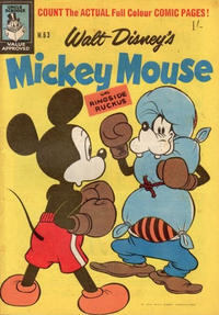 Cover Thumbnail for Walt Disney's Mickey Mouse (W. G. Publications; Wogan Publications, 1956 series) #63
