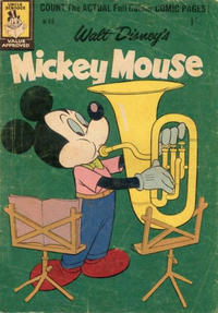 Cover Thumbnail for Walt Disney's Mickey Mouse (W. G. Publications; Wogan Publications, 1956 series) #66