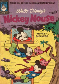 Cover Thumbnail for Walt Disney's Mickey Mouse (W. G. Publications; Wogan Publications, 1956 series) #64