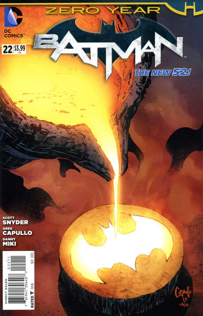 Cover for Batman (DC, 2011 series) #22 [Direct Sales]
