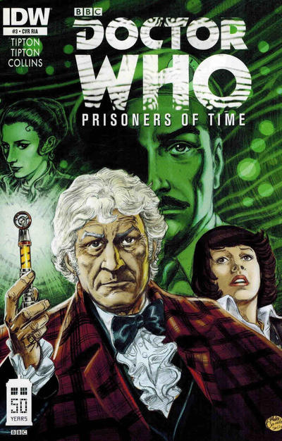 Cover for Doctor Who: Prisoners of Time (IDW, 2013 series) #3
