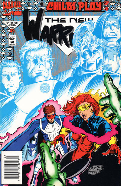 Cover for The New Warriors (Marvel, 1990 series) #45