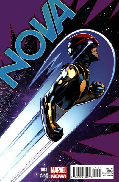 Cover for Nova (Marvel, 2013 series) #3 [Mark Bagley variant cover]