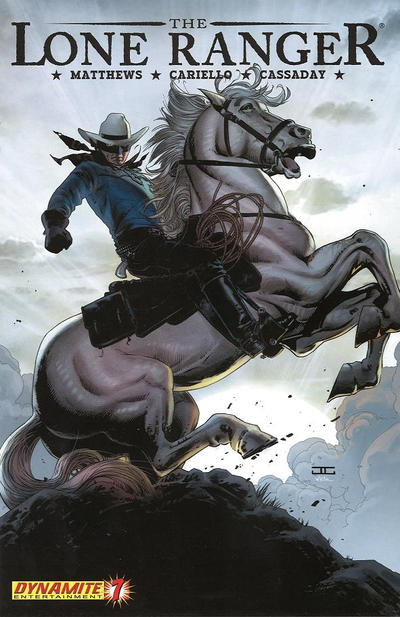 Cover for The Lone Ranger (Dynamite Entertainment, 2006 series) #7 [Regular]