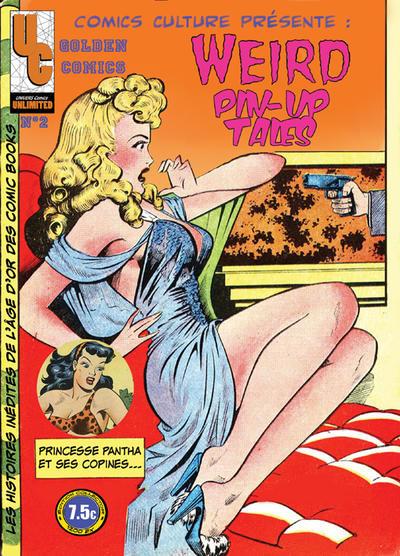 Cover for Golden Comics (Univers Comics, 2009 series) #2