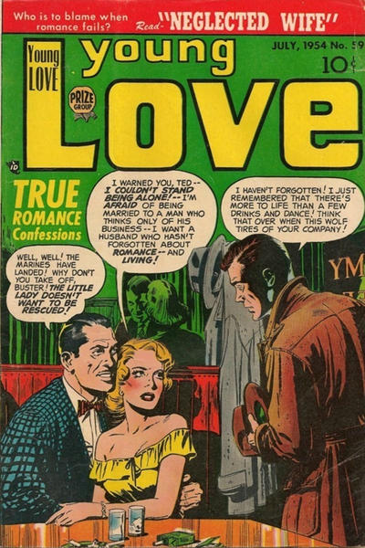 Cover for Young Love (Prize, 1949 series) #v6#5 (59)