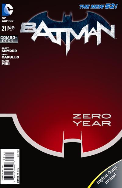 Cover for Batman (DC, 2011 series) #21 [Newsstand]