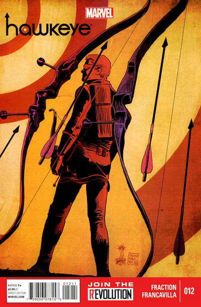 Cover for Hawkeye (Marvel, 2012 series) #12