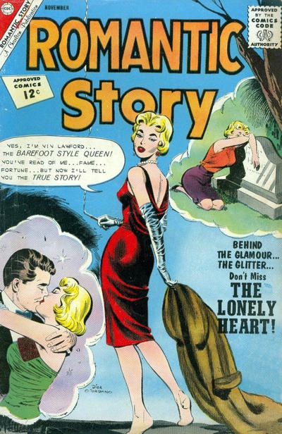 Cover for Romantic Story (Charlton, 1954 series) #63