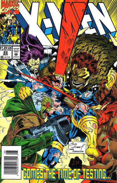 Cover for X-Men (Marvel, 1991 series) #23 [Direct Edition]