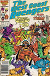 Cover for West Coast Avengers (Marvel, 1985 series) #15 [Newsstand Edition]