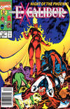 Cover for Excalibur (Marvel, 1988 series) #29 [Newsstand Edition]