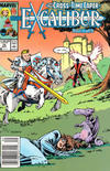 Cover for Excalibur (Marvel, 1988 series) #12 [Newsstand Edition]