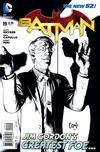 Cover for Batman (DC, 2011 series) #19 [Greg Capullo Black & White Wraparound Cover]