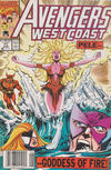 Cover Thumbnail for Avengers West Coast (1989 series) #71 [Newsstand Edition]