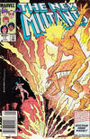 Cover Thumbnail for The New Mutants (1983 series) #11 [Newsstand Edition]