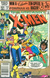 Cover for The Uncanny X-Men (Marvel, 1981 series) #153 [Newsstand]