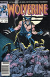 Cover for Wolverine (Marvel, 1988 series) #1 [Newsstand Edition]