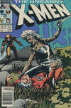 Cover Thumbnail for The Uncanny X-Men (1981 series) #216 [Newsstand]