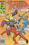 Cover for The Uncanny X-Men (Marvel, 1981 series) #215 [Newsstand]