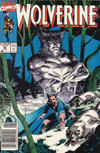 Cover for Wolverine (Marvel, 1988 series) #25 [Newsstand]