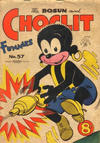 Cover for The Bosun and Choclit Funnies (Elmsdale, 1946 series) #57