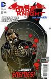 Cover for Batman: The Dark Knight (DC, 2011 series) #22