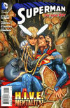 Cover for Superman (DC, 2011 series) #22