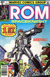 Cover for ROM (Marvel, 1979 series) #1 [Newsstand Edition]