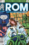 Cover for ROM (Marvel, 1979 series) #7 [Newsstand Edition]