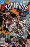 Cover for The New Adventures of Superboy (DC, 1980 series) #49 [Newsstand]