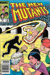 Cover Thumbnail for The New Mutants (1983 series) #9 [Newsstand Edition]