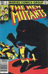Cover for The New Mutants (Marvel, 1983 series) #3 [Newsstand Edition]