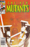 Cover Thumbnail for The New Mutants (1983 series) #26 [Newsstand Edition]
