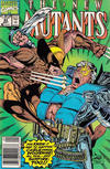 Cover Thumbnail for The New Mutants (1983 series) #93 [Newsstand Edition]