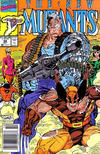 Cover Thumbnail for The New Mutants (1983 series) #94 [Newsstand Edition]
